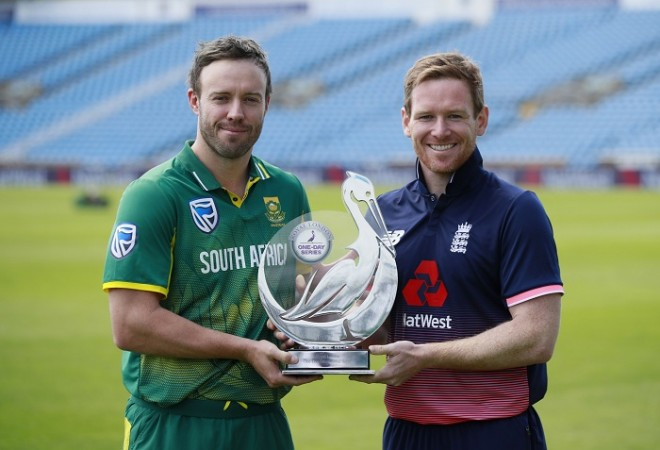 Eoin Morgan's century helps England to 339 vs South Africa