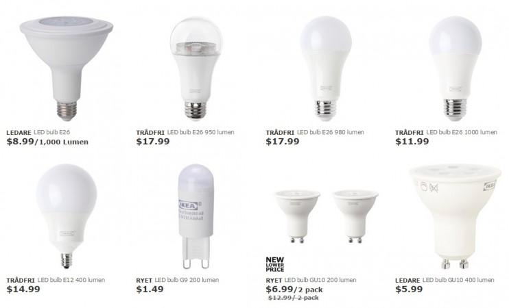Ikea's smart lights add voice control via Alexa, Assistant, and Homekit