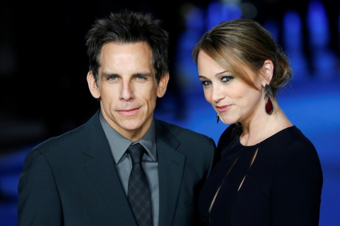how did christine taylor and ben stiller meet the parents