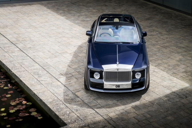 Rolls-Royce unveils the Bespoke 'Sweptail'