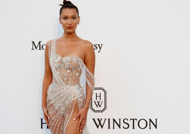 Bella Hadid is Bringing Back the Dress With Sneakers Trend
