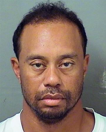 Tiger Woods, mugshot, arrest, Florida, DUI