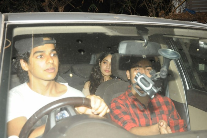 Ishaan Khattar and Jhanvi Kapoor are DATING & Here's A Proof