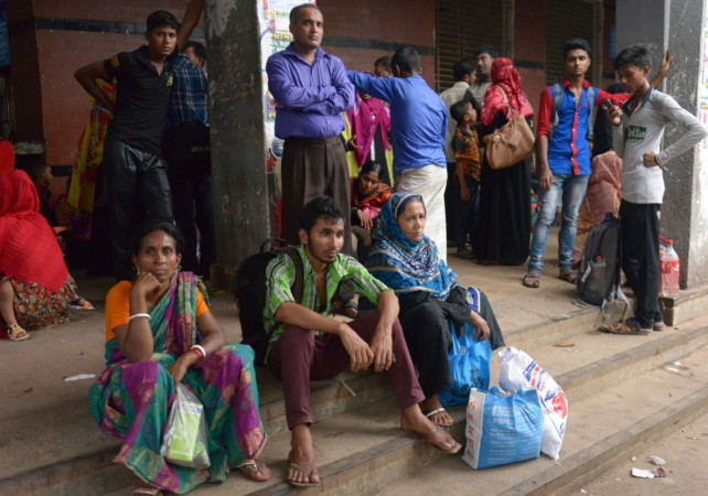 Cyclone brings destruction to Myanmar refugee camps in Bangladesh
