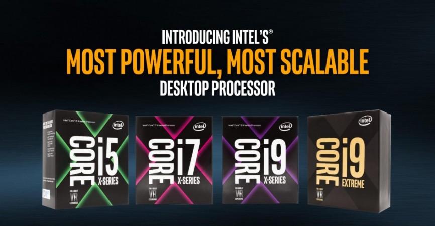 8th Gen Intel Core processors as seen in the company's website