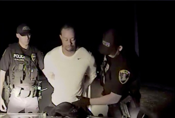 Woods appears unsteady, disoriented in police dash-cam video of DUI arrest