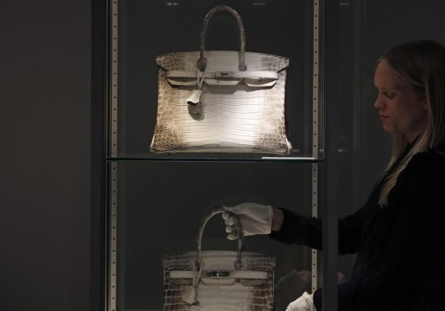 Birkin bag sells for record $380000 at Hong Kong auction