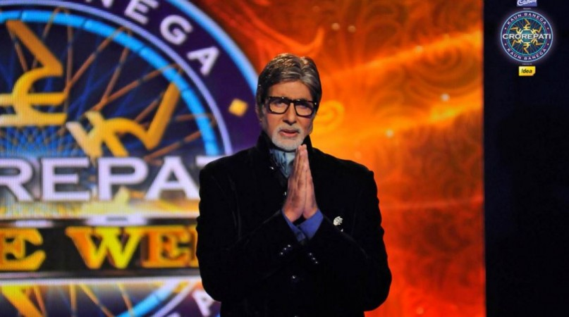 Whoa! Amitabh Bachchan's Kaun Banega Crorepati season 9, gets its first crorepati