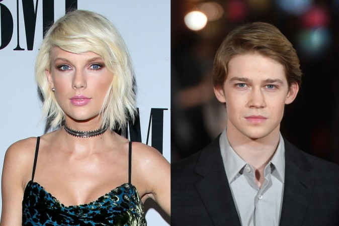 Taylor Swift spotted with her British boyfriend Joe Alwyn for first time