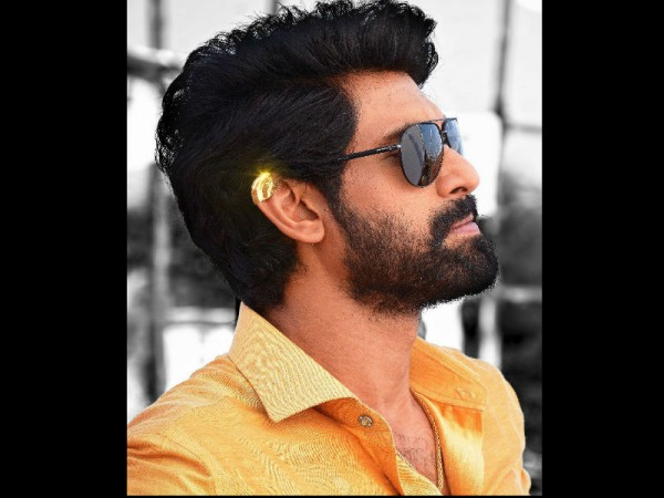 Rana Daggubati's look from his new film released