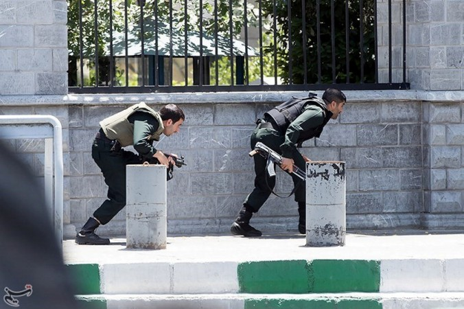 Twin attacks hit Iran parliament and Khomeini's tomb, killing at least two