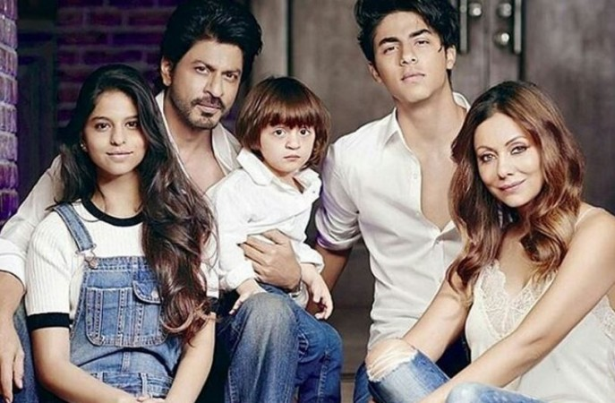 Shah Rukh Khan and family