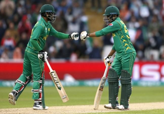 Mohammad Hafeez Babar Azam Pakistan Sri Lanka ICC Champions Trophy 2017