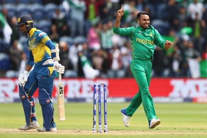 Fahim Ashraf Pakistan Dinesh Chandimal Sri Lanka CT 2017