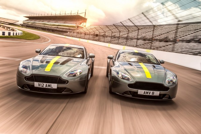 Aston-Martin Reveals The Vantage AMR