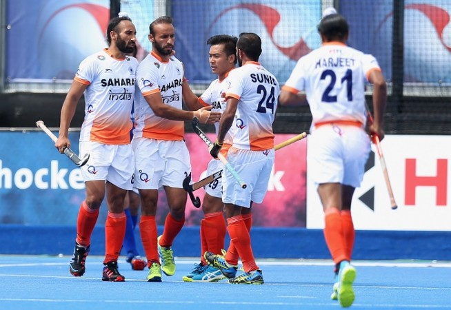 India Ramandeep Singh Sardar Singh Hockey World League Semifinal