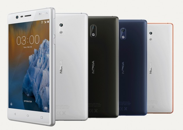Nokia 3 as seen on official website