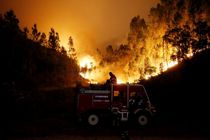 Raging fires in Portugal claim 61 lives