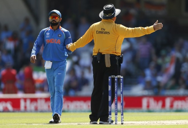 Marais Erasmus, no-ball, Virat Kohli, India, Pakistan