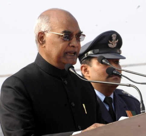 Bihar Governor Ram Nath Kovind