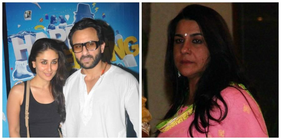 Saif Ali Khan, Kareena Kapoor Khan and Amrita Singh