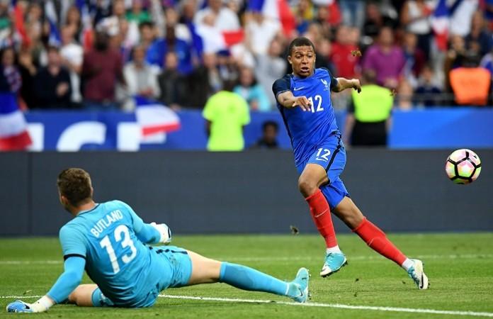 Kylian Mbappe, France, Jack Butland, England, Arsenal