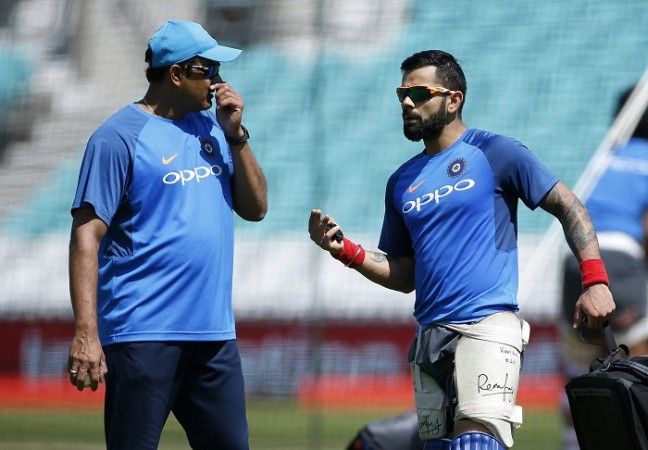 Anil Kumble, Virat Kohli, India, West Indies, coach