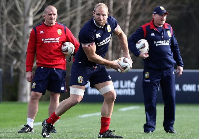 James Haskell, Graham Rowntree, British and Irish Lions, Chiefs, All Blacks