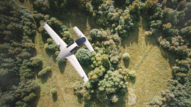 Lilium Aviation plane