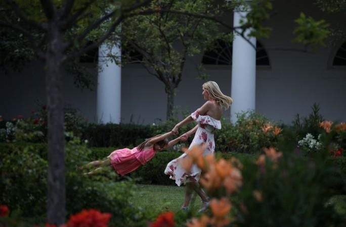 Ivanka Trump Donald Trump Congressional picnic