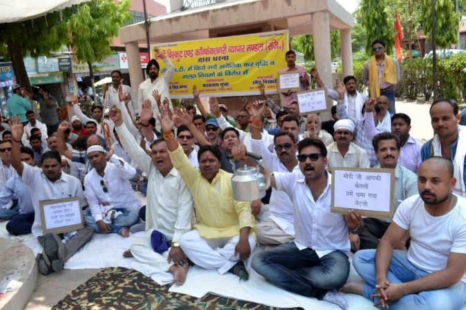 GST: Tepid response to trader body's protest call
