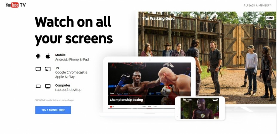 Google, YouTube TV, expand, US, cities, subscriptions,details