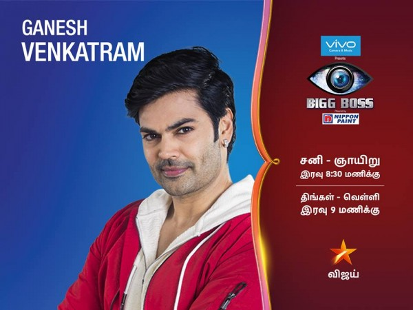 Image result for Ganesh Venkatraman bigg boss