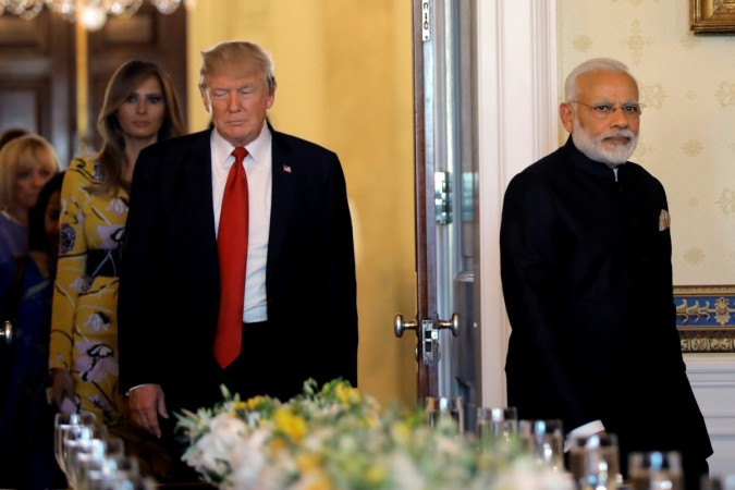 Modi, Trump likely to meet at ASEAN summit today