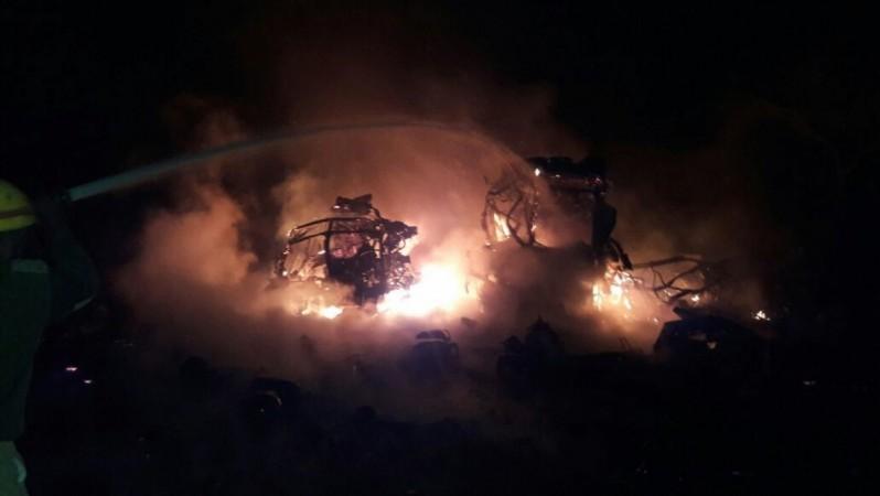 Five killed, 4 injured in gas cylinder burst in Okhla, Delhi
