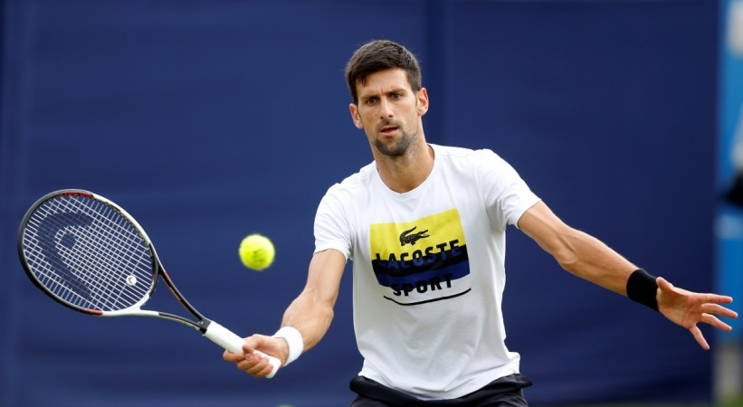 Novak Djokovic: 'I've been struggling. Agassi with me at Wimbledon'