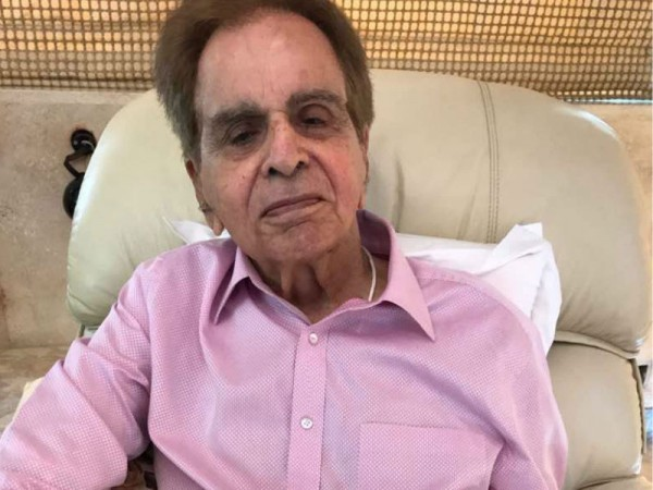 this latest picture of dilip kumar will make you worried
