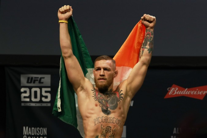 McGregor: the main sponsor will pay$10 Million
