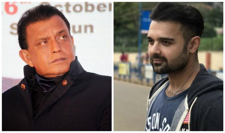 Mithun Chakraborty and Mimoh