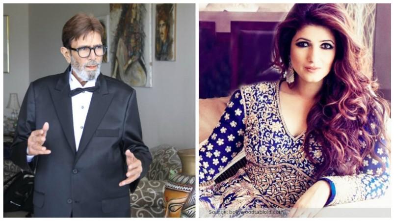 Rajesh Khanna and Twinkle Khanna