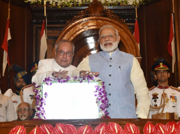PM Modi releases photo essay on Pranab Mukherjee's presidency