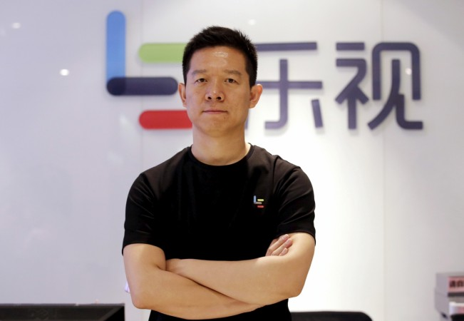 LeEco founder's assets, shares frozen over missed payment