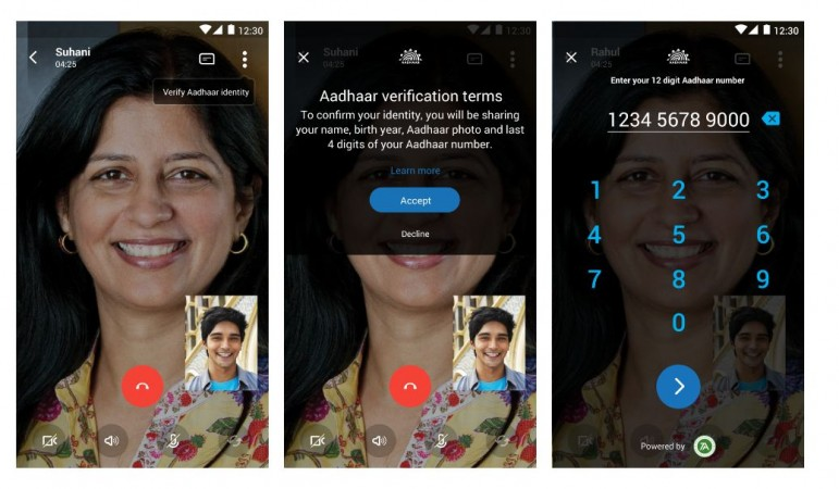 Now, Skype Lite to verify caller's identity with Aadhaar