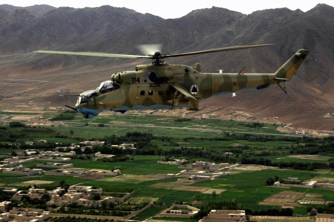 Indian air force helicopter crash kills five