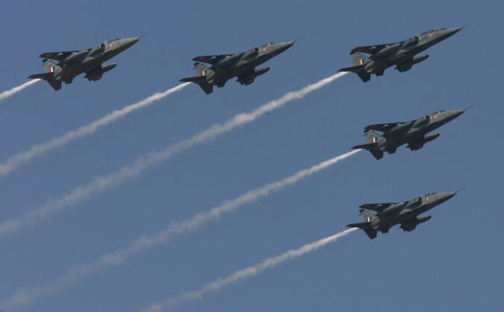 Indian fighter jets