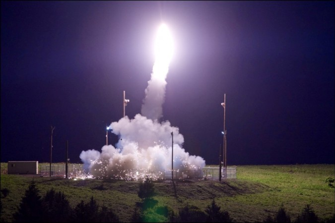 United States says missile defense system successfully intercepts projectile during test