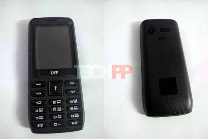Reliance Jio LYF 4G VoLTE feature phone