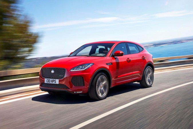Jaguar E-Pace unveiled in style: does 270-degree barrel roll