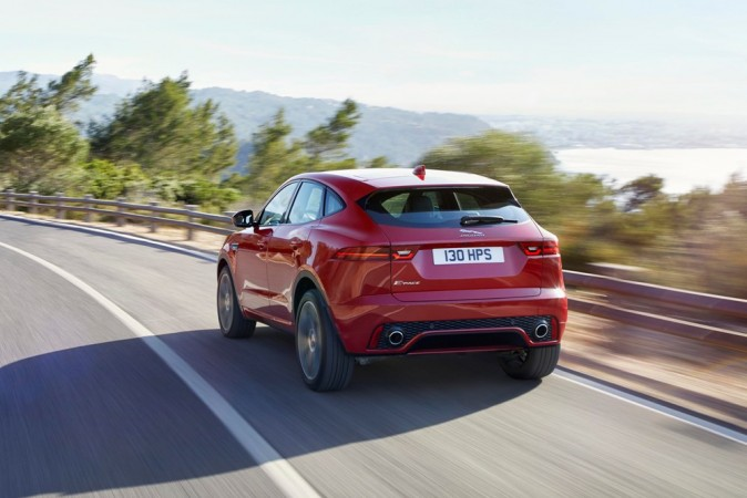 Watch the Jaguar E-Pace set a Guinness world record