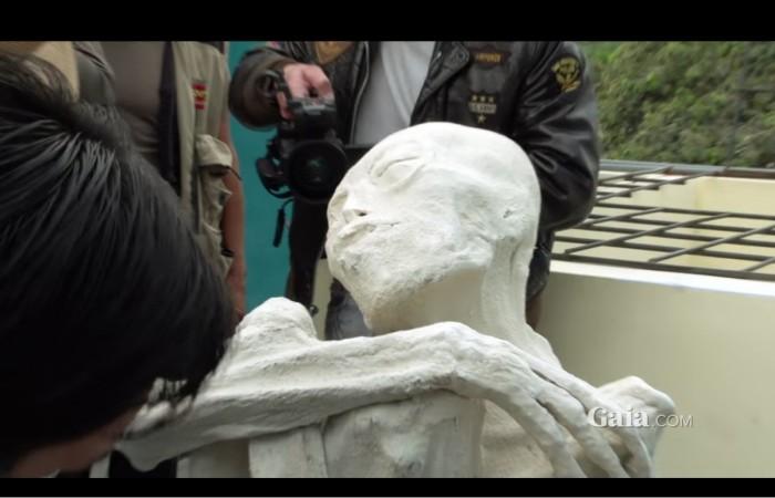 alien mummy, alien, Nazca, Peru, discovered,